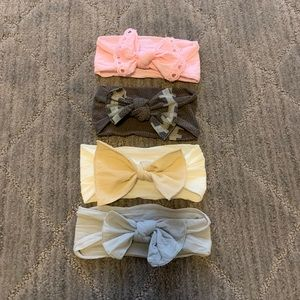 Baby Bling Bows-set of 4